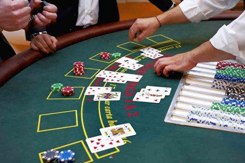 blackjack table Hire