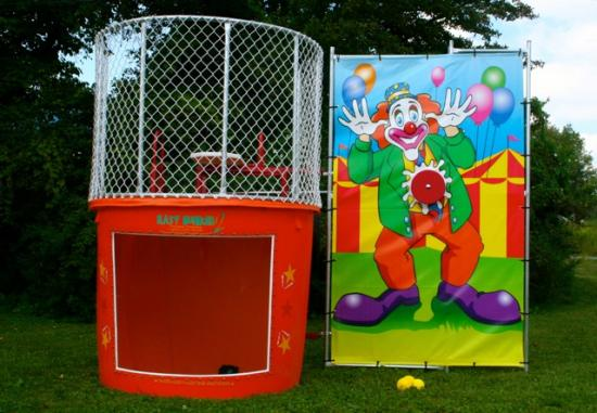 Dunk Tunk Party Hire Hub